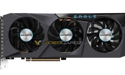 Gigabyte Radeon RX 6600 EAGLE graphics surprises Australia for € 570