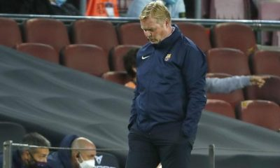 """A BOLA - Koeman is tired and says in his statement that """"miracles do not happen"""" at the Championship (Barcelona)."""