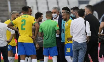 """A BOLA - """"National teams must comply with health laws,"""" says Infantino (FIFA)."""