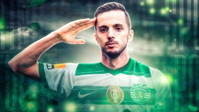 """A BOLA - Sarabia says playing for Sporting is """"an important step for further growth"""" (Sporting)."""