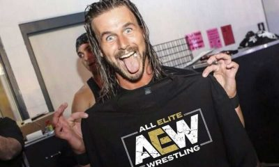 """Adam Cole: """"I wanted to come to AEW from an early age"""""""