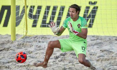 Beach soccer goalkeeper's son goes missing