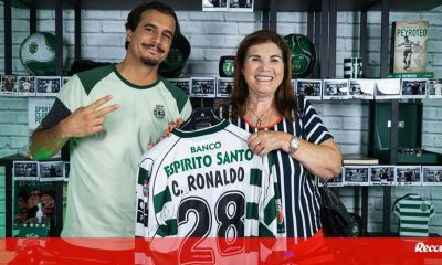 """Dolores Aveiro shared her """"greatest wish"""" in front of Ronaldo: """"Son, before I die, I want to see you in Sporting"""" - Sporting"""