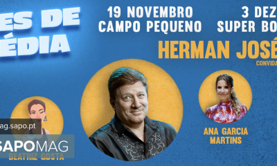 """Herman José, A Pipoca Mais Doce and Beatrice Gosto present """"Comedy Nights"""" in Lisbon and Porto - Showbiz"""