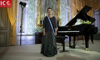 Pianist Maria João Pires hospitalized in serious condition after falling in Latvia