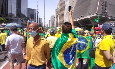 Political world reacts to Bolsonaro's speeches at demonstrations