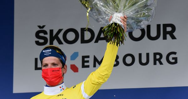 Portuguese João Almeida wins the first leg of the Tour of Luxembourg by bike