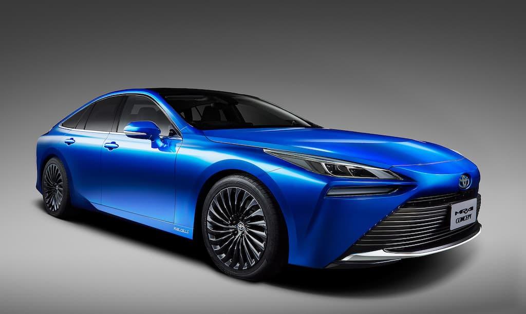 Toyota apresentou a segunda geração do Mirai, o seu veículo movido a hidrogénio célula de combustível