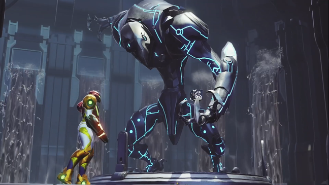Challenging battles await in Metroid Dread