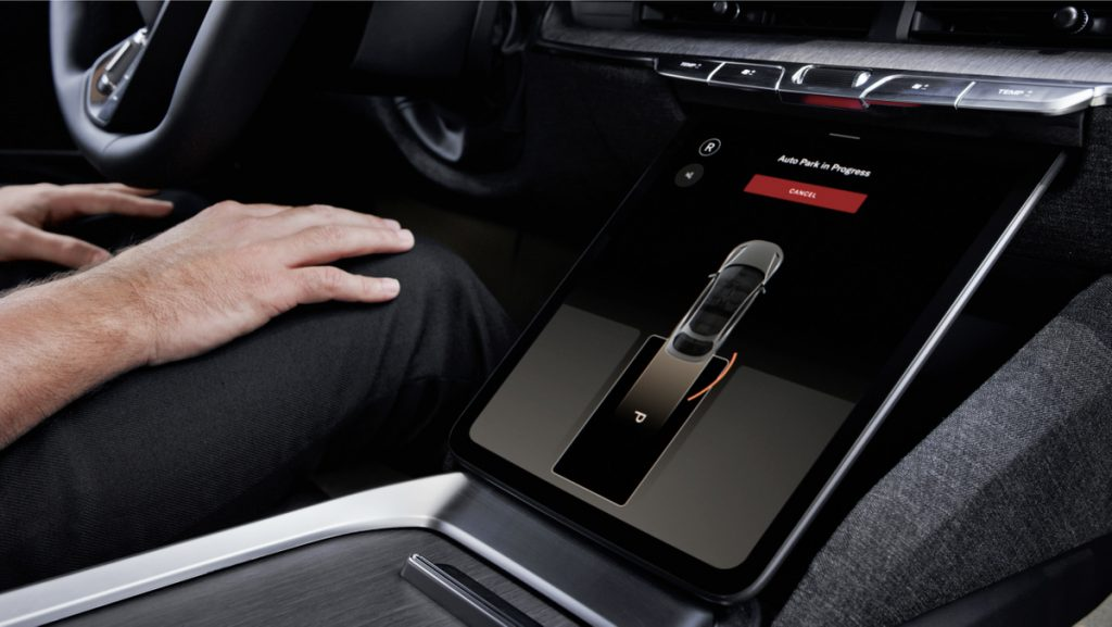 Lucid Air panel with active DreamDrive system