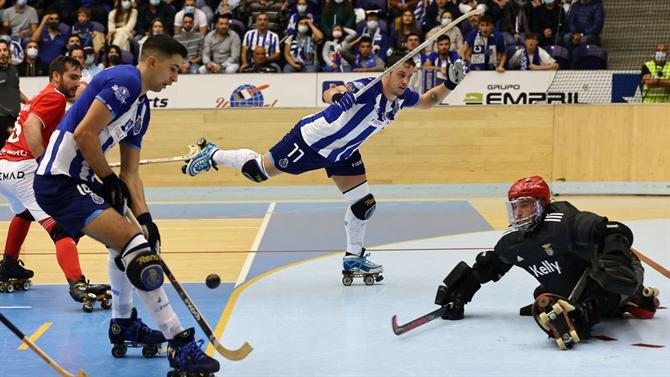 A BOLA - FC Porto defeats Benfica and strengthens leadership (speed skating)