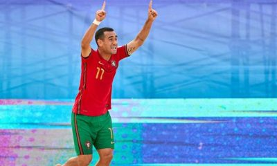 A BOLA - Leo Martins among the finalists for the title of the best player in the world (beach soccer)