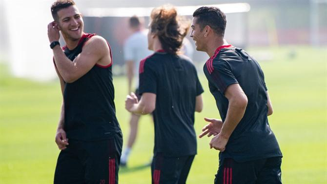 """BALL - The first game Dalot and Ronaldo saw: """"I was not too happy"""" (Manchester United)."""