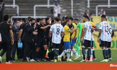 """FIFA President Reacts to Differences Between Brazil and Argentina: """"This is Unacceptable and Harms Football"""" - 2022 World Cup"""