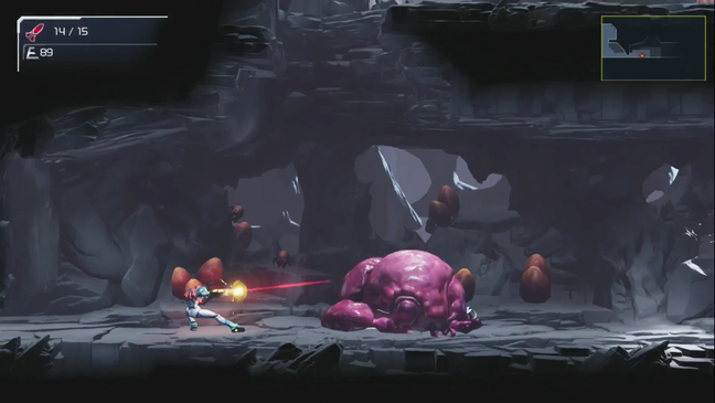 Metroid Dread uses lateral progression