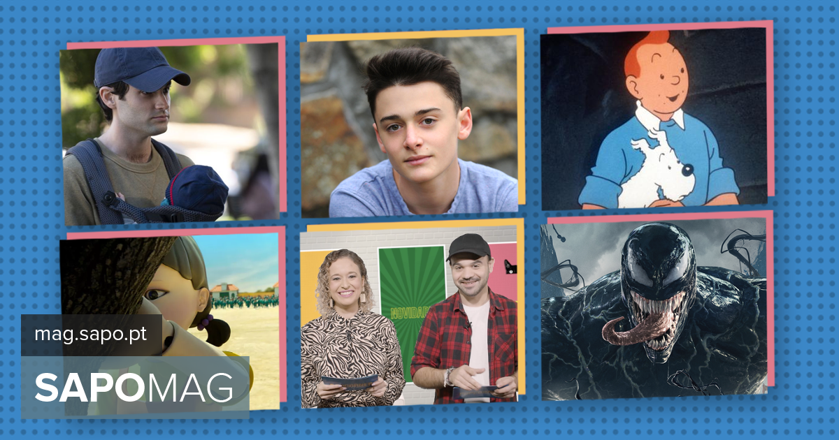 Popcorner: Noah Schnapp from Stranger Things with Comic Con Portugal.  We dive into the Squid Games phenomenon and go to the cinema with Venom - Current Events